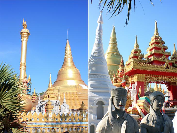 travel, thailand, songkhla, shwedagon pagoda