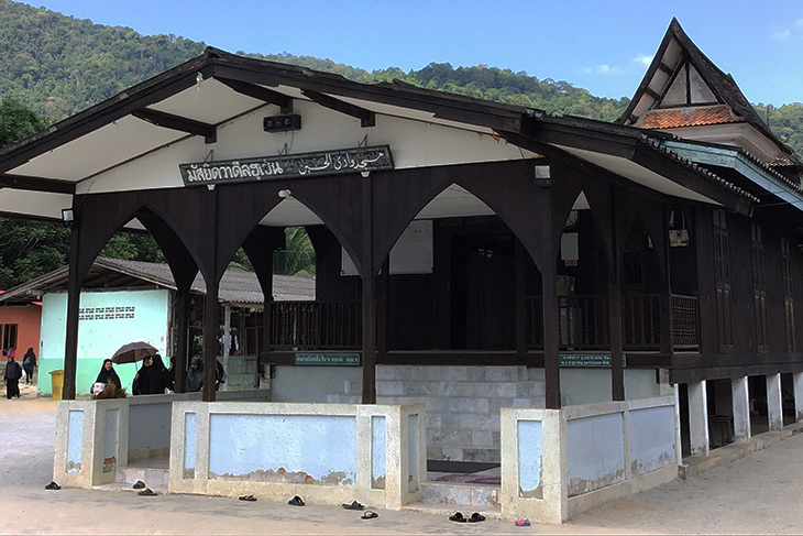 thailand, travel, naratthiwat, wadil-husen mosque