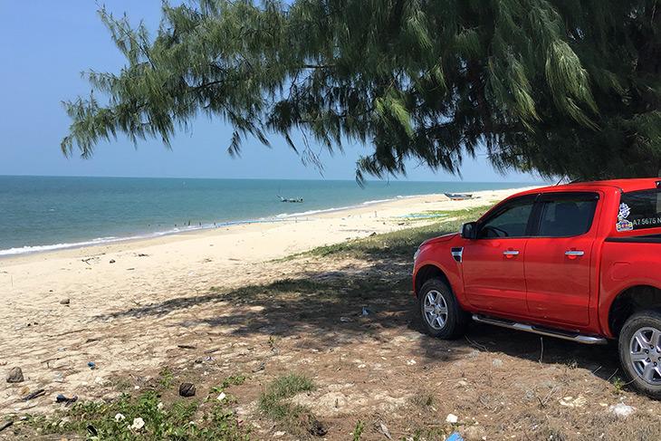 travel, thailand, songkhla, maharat beach