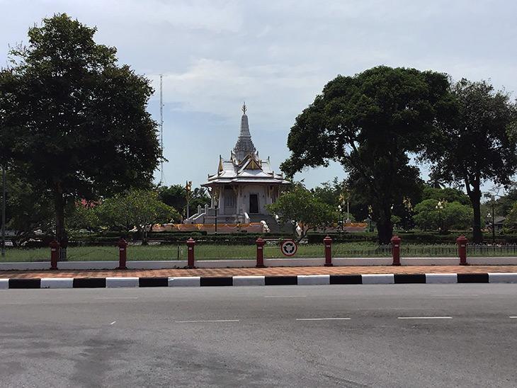 travel, thailand, yala, wat, temple, gardens