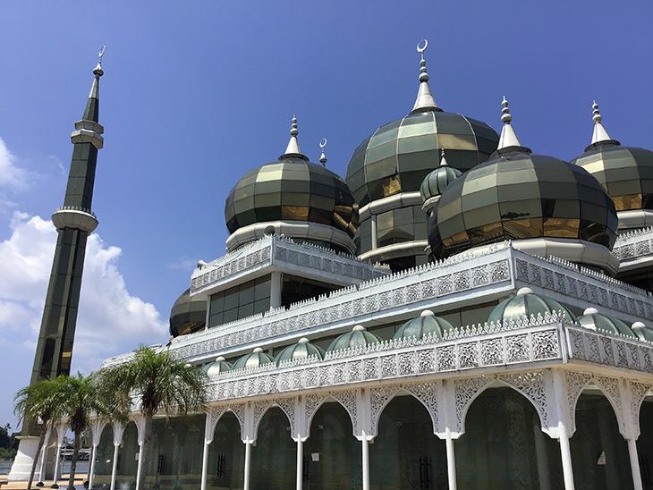 travel, malaysia, terengganu, masjid kristal