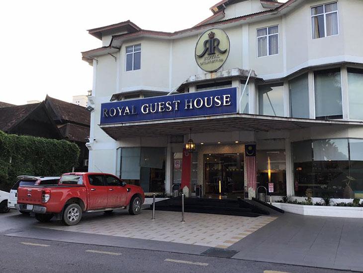travel, malaysia, kota bharu, royal guest house