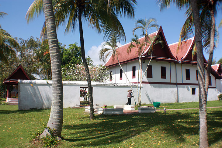 travel, thailand, phatthalung museum, governors residence