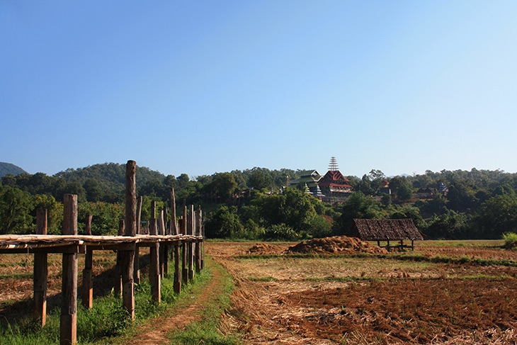 Su Tong Pae Bamboo Bridge Mae Hong Son