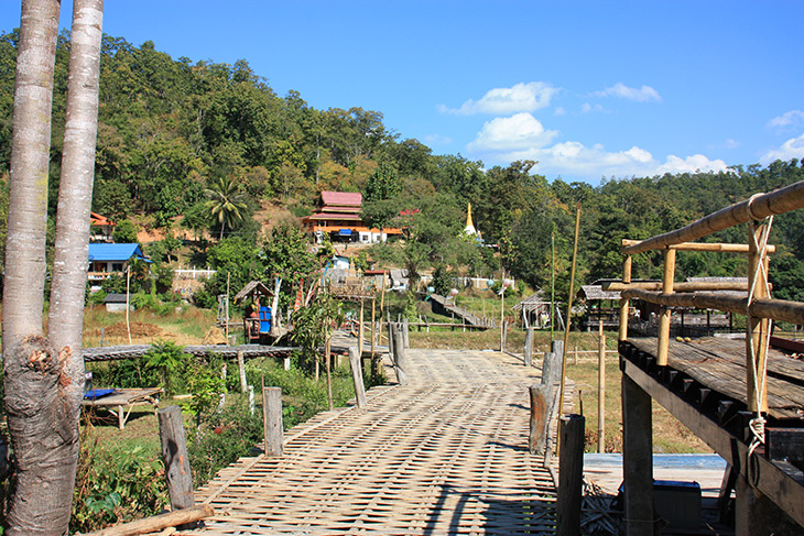 Buddha Bamboo Bridge Pai