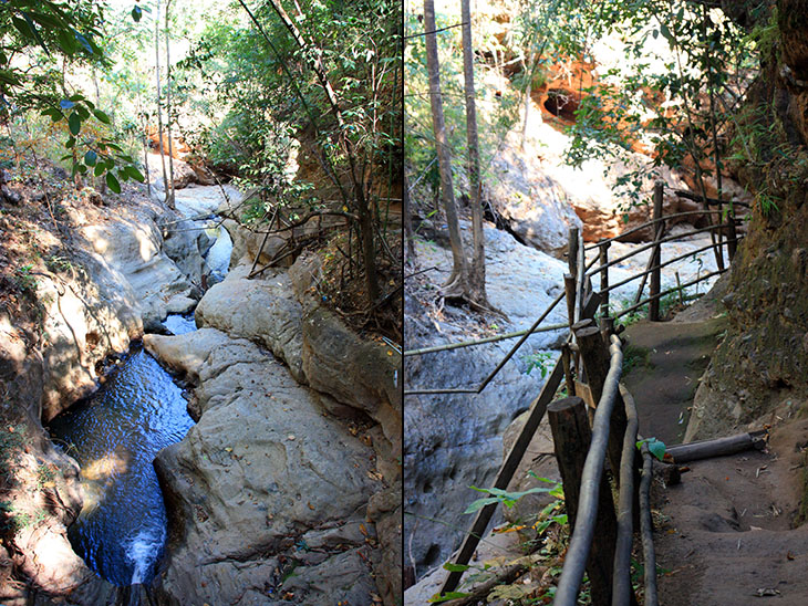 Pai, Pam Bok Waterfall