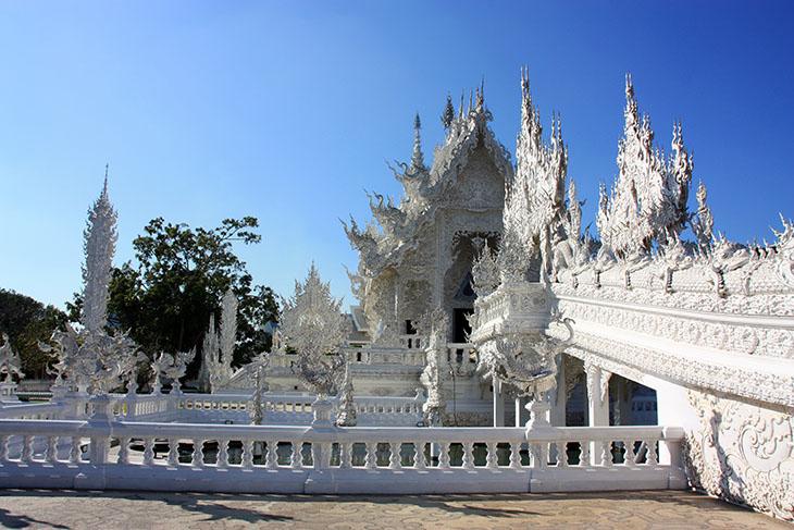 Wat Rong Khun, White Temple, Chiang Rai