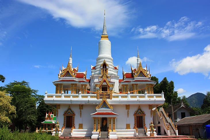 travel, thailand, sichon, wat chom petch wannaram