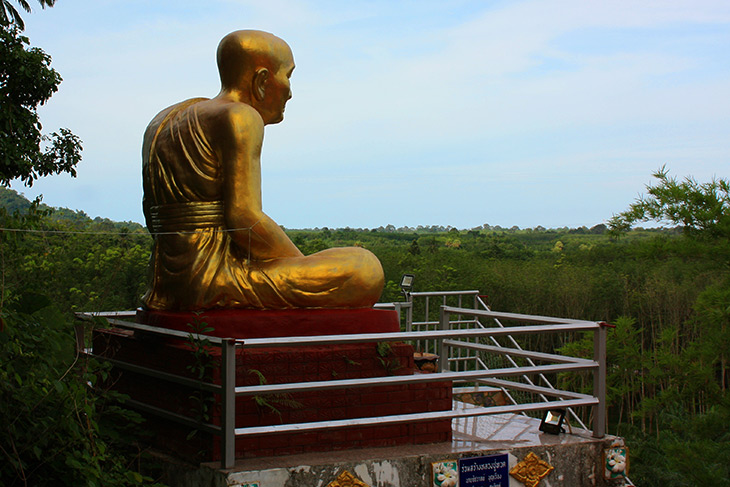travel, thailand, tham khoa phong monastery