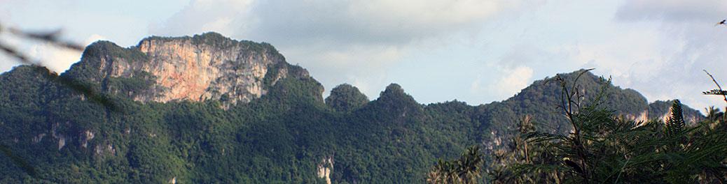 travel, thailand, surat thani, don sak, nangkam beach