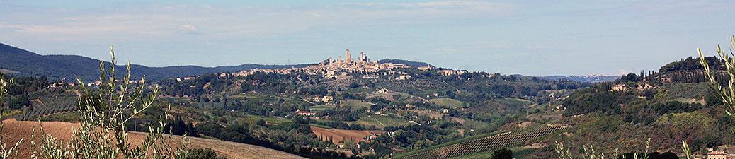 travel, italy, tuscany, san gimignano, towers