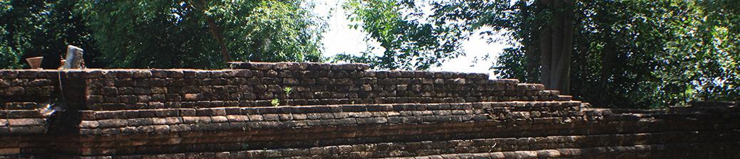 Thailand Sichon Khao Kha Ancient Ruins Archaeological Site