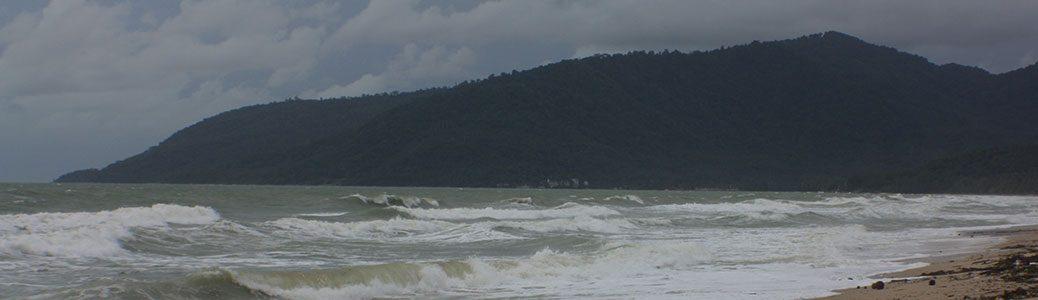 thailand, khanom, torrential rain