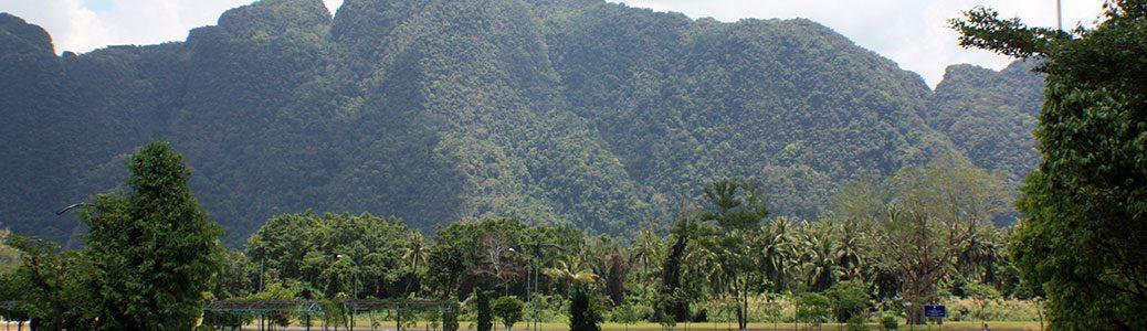 Somdet Phra Srinagarindra Park, Phang-Nga, Thailand