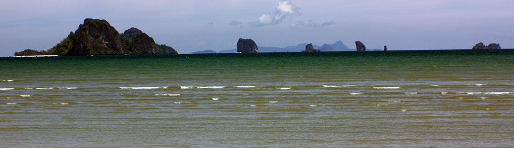 Thailand, Krabi, Ao Nang, Beaches