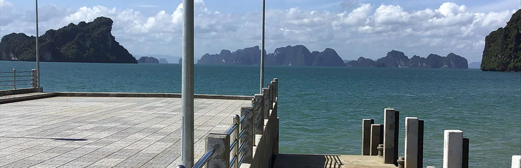travel, thailand, islands, phan nga, ko yao noi, jetties